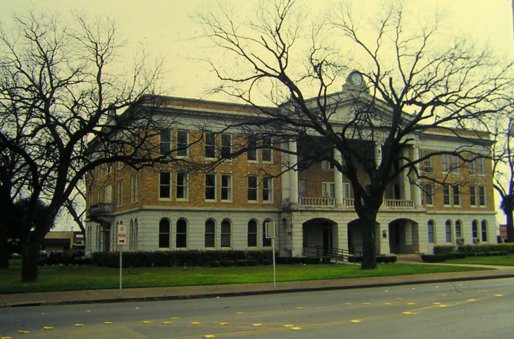 Courthouse, Uvalde, TX, feb 1995, Пирсалл