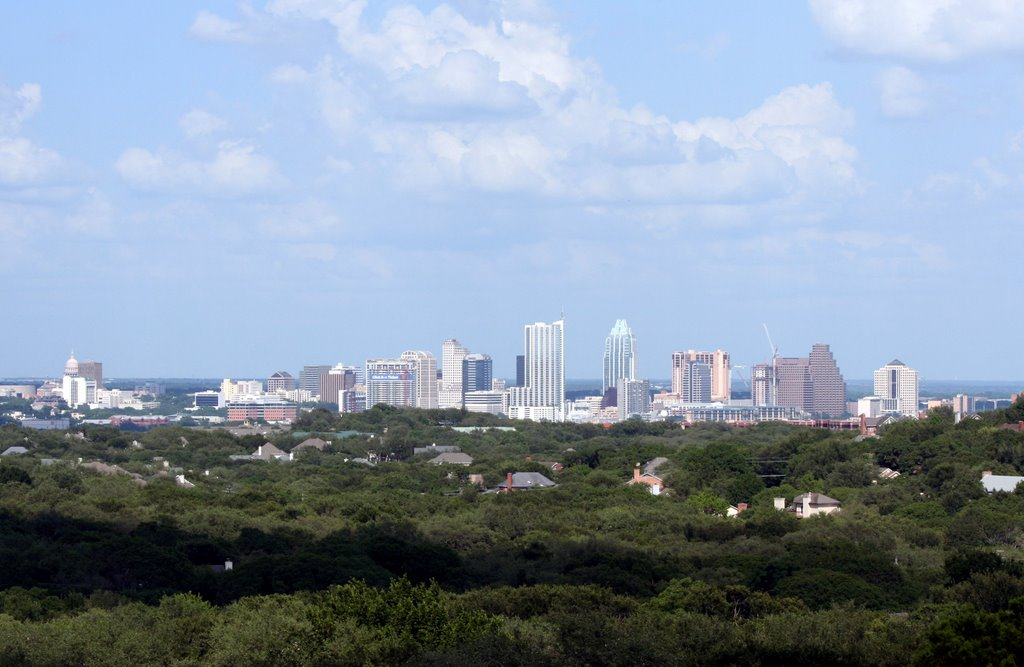 Austin Skyline from Cetona Court, Роллингвуд
