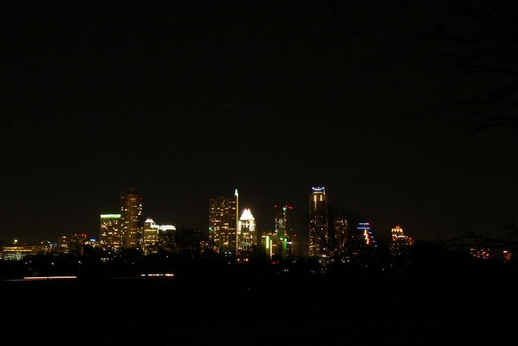 Austin Texas nightime skyline, Роллингвуд