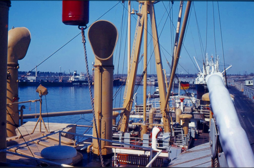 Galveston 1961/1962 MS Lüneburg, Сагинау