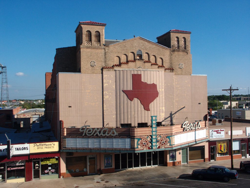 Texas Theater in San Angelo, Сан-Анжело