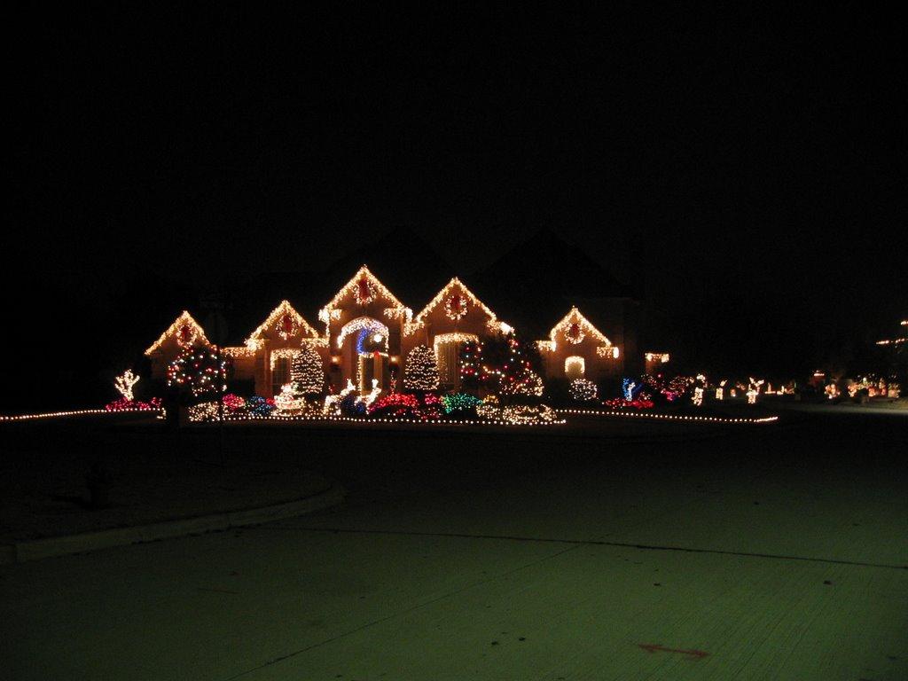 Christmas lights - San Angelo - Dec 2003, Сан-Анжело