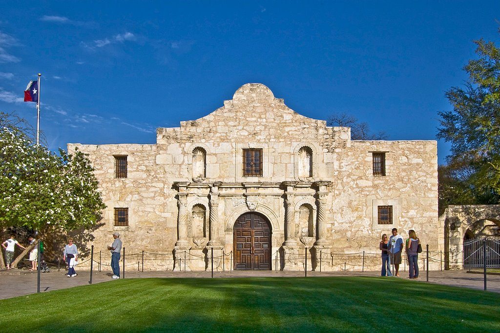 The Alamo - San Antonio, TX, Сан-Антонио
