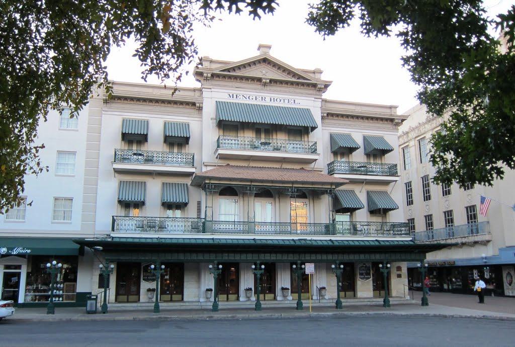 The Menger Hotel c. 1859, Сан-Антонио