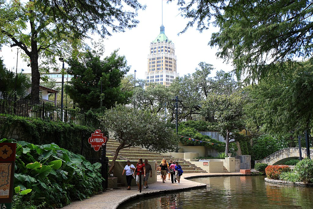 Riverwalk. San Antonio. Texas., Сан-Антонио