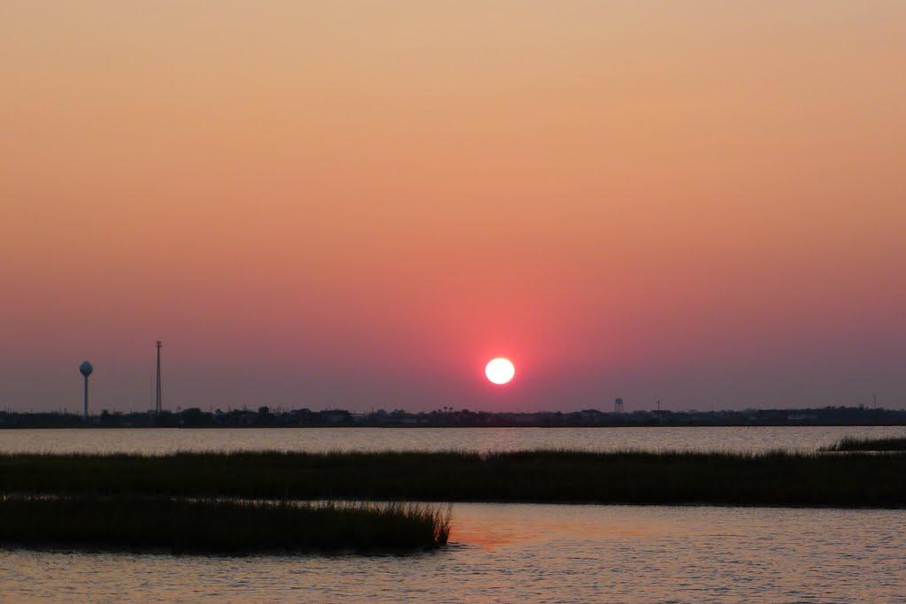 Galveston Bay,Houston,TX, Сансет-Вэлли