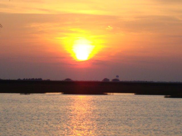 un atardecer en bayou vista, Сегуин