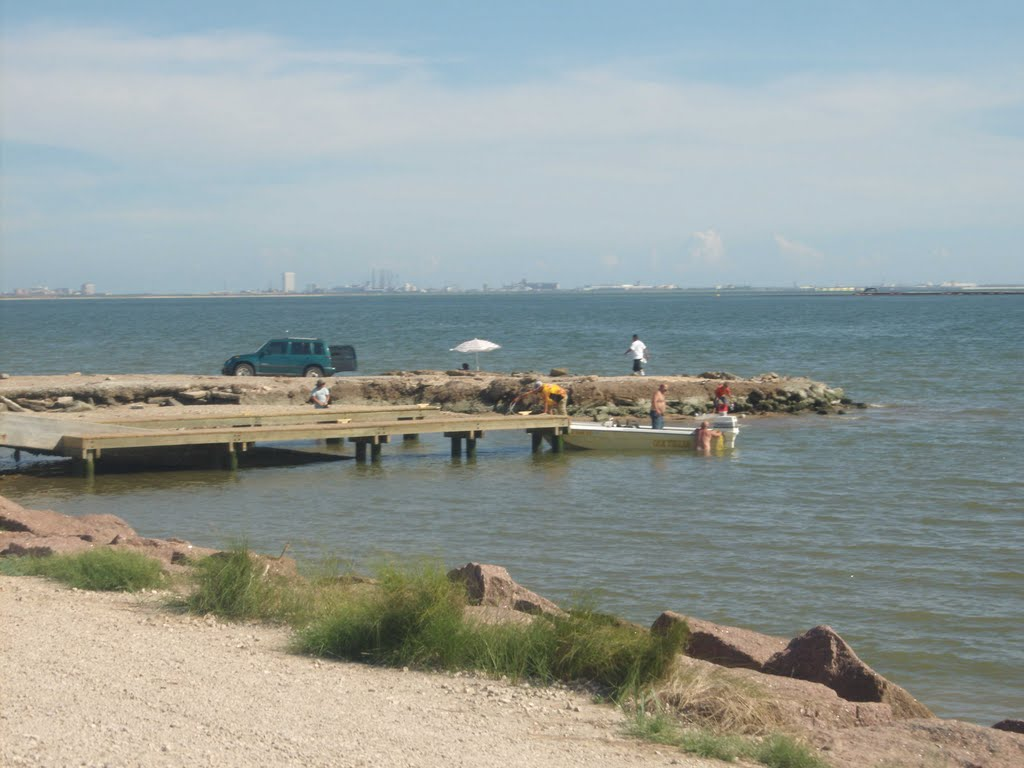 texas city dike, Сегуин