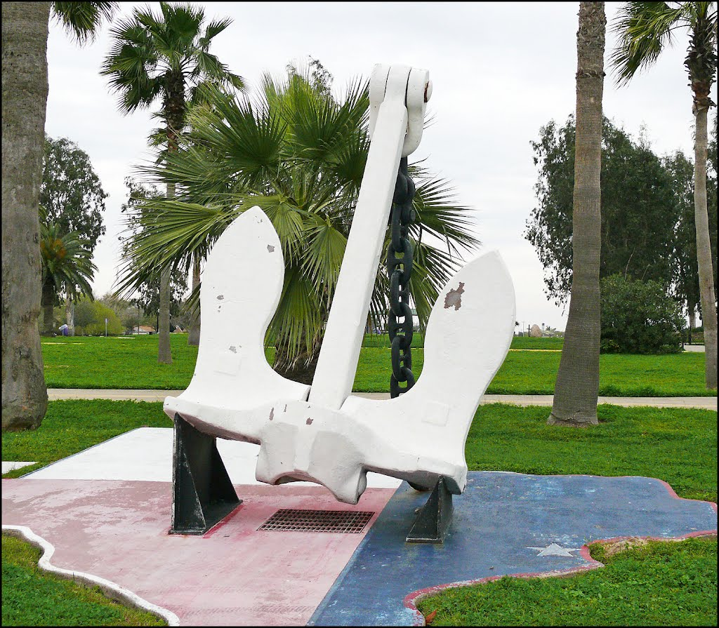 The Anchor from the SS Grandchamp Whose Explosion Caused the Deadliest Industrial Disaster in U.S. History, Сенсом-Парк-Виллидж