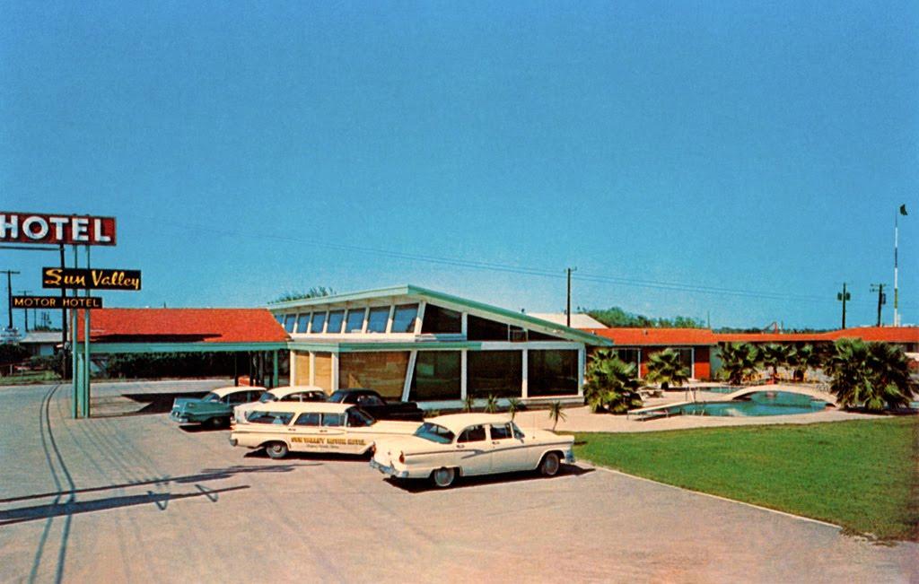 Sun Valley Hotel in Corpus Cristi, Texas, Тафт