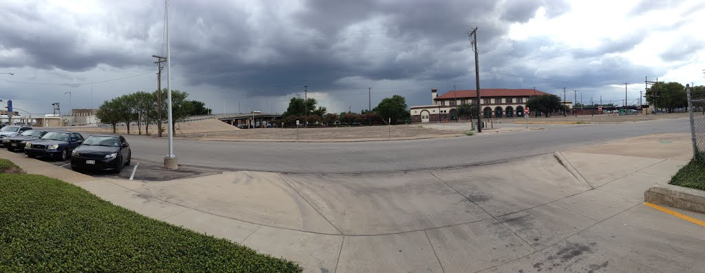 Southbound Ave A and 5th St, Temple, TX, Темпл