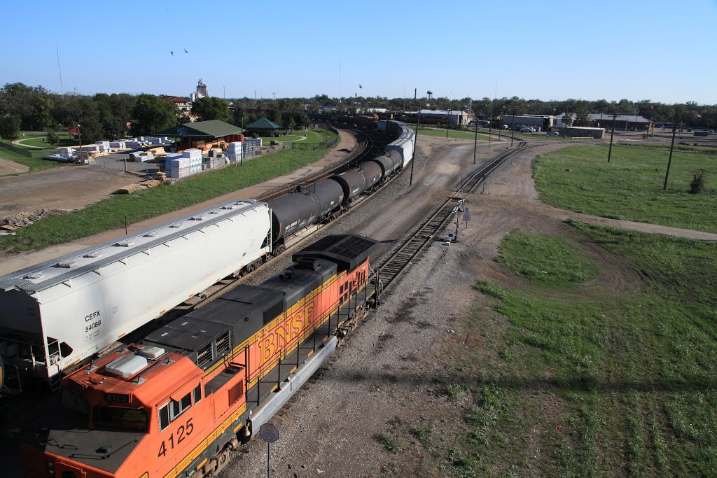Rail yard, Темпл