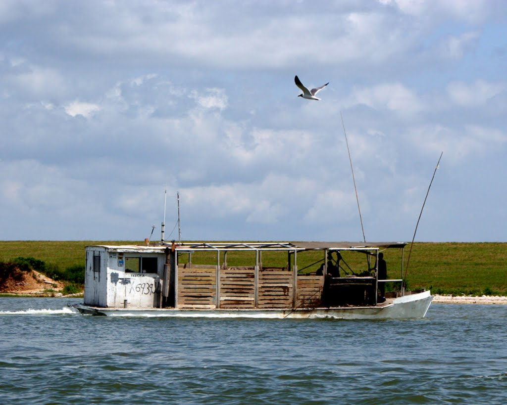 An Oyster Lugger in Moses Lake, Тилер