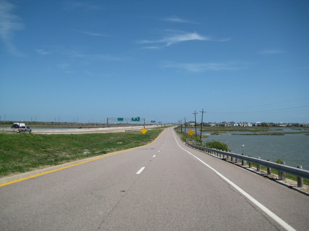 I-45 South South toward Galveston, TX, Тралл