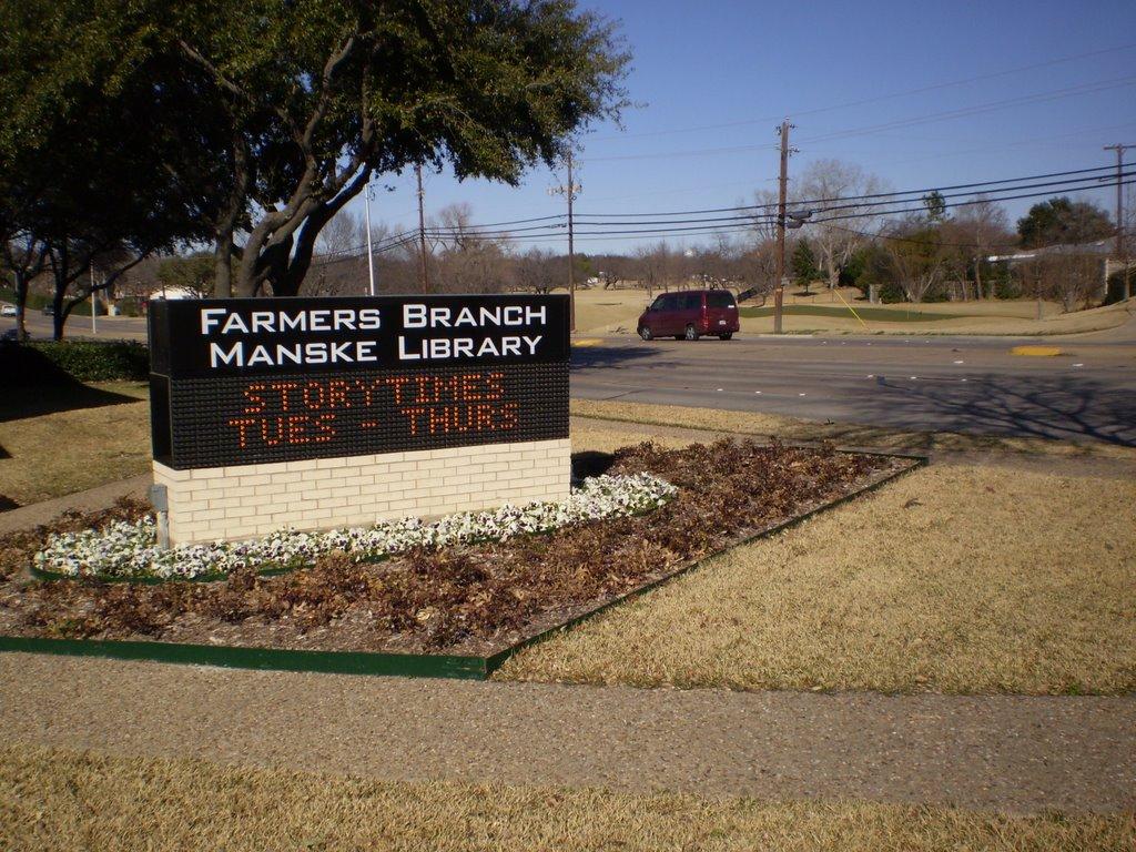 Farmers Branch Manske Library, Фармерс-Бранч
