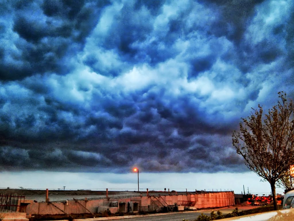 Storm clouds in Dallas, Фармерс-Бранч