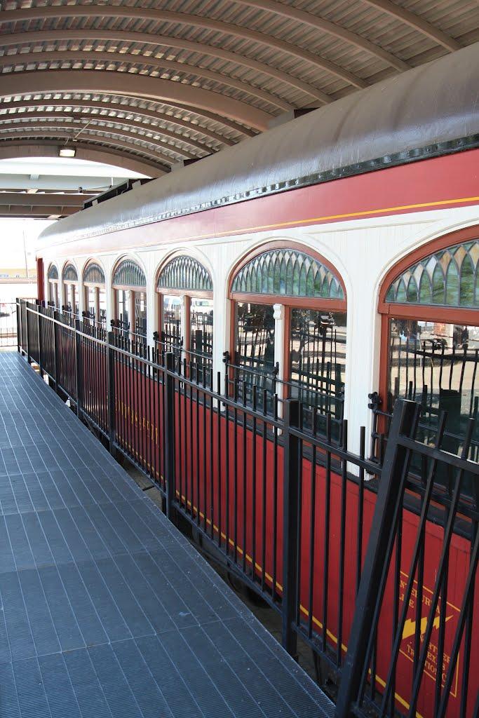 Primer Tren Electrico, Recuerdo de un pasado Memorable-Fort Worth-Texas, Форт-Уэрт