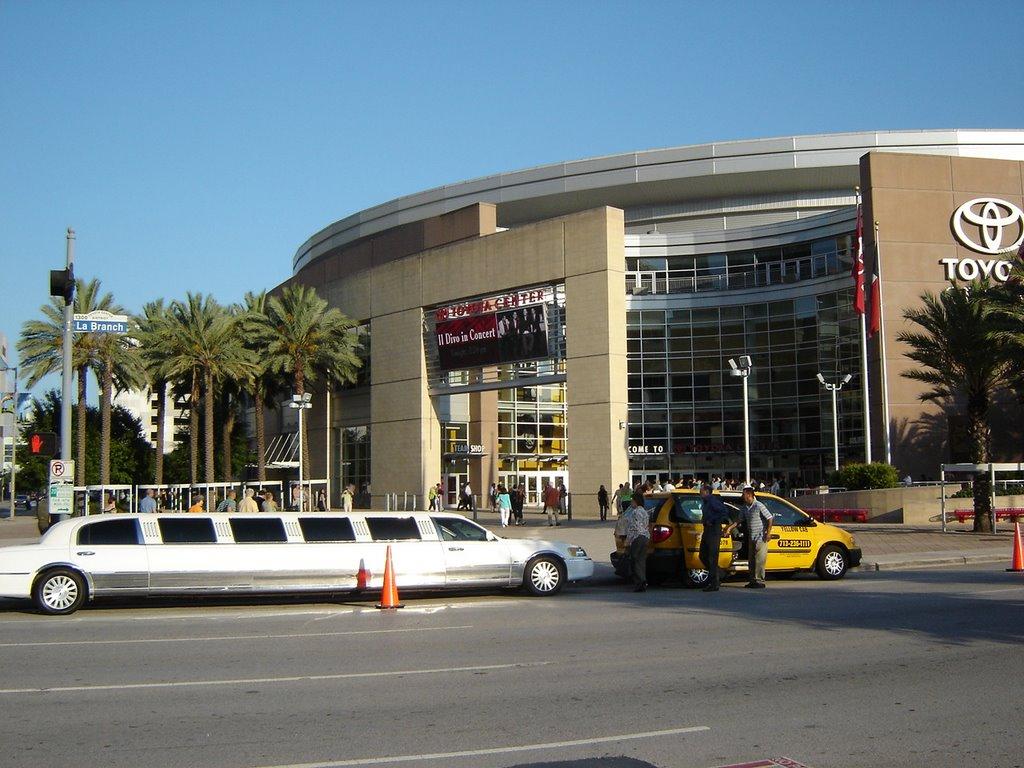 Toyota Center Downtown Houston TX, Хьюстон