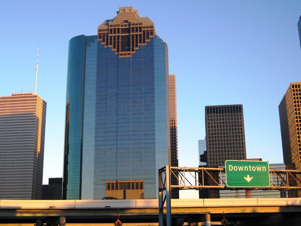 Downtown, Хьюстон