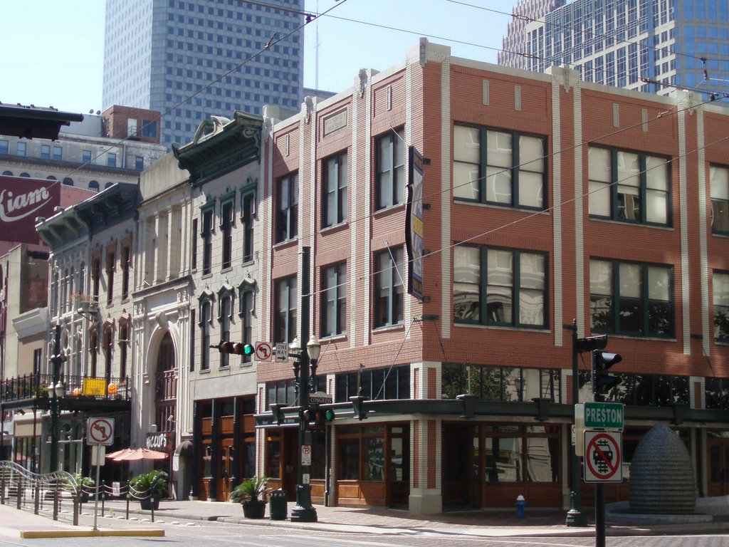 Main Street and Preston Avenue, Хьюстон