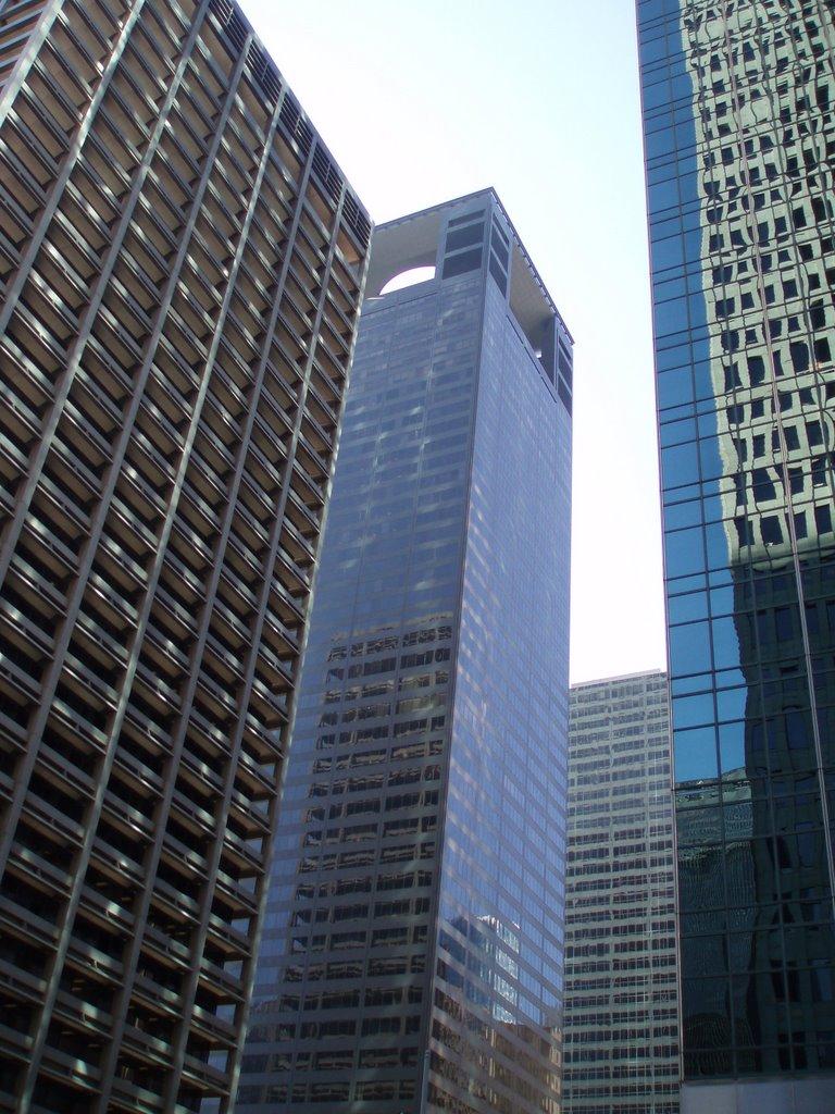 El Paso Corporation, Reliant Energy and Wells Fargo Bank Plaza, Хьюстон