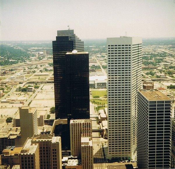 Sight of Bob Lanier Building, Хьюстон