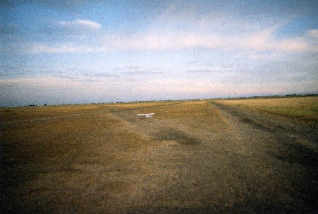 The field from the north end, Шаллоуотер