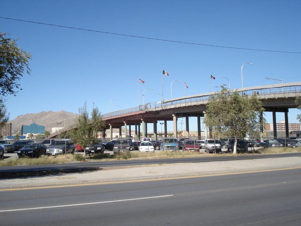 Puente Internacial, Cd. Juarez. Chih., Эль-Пасо