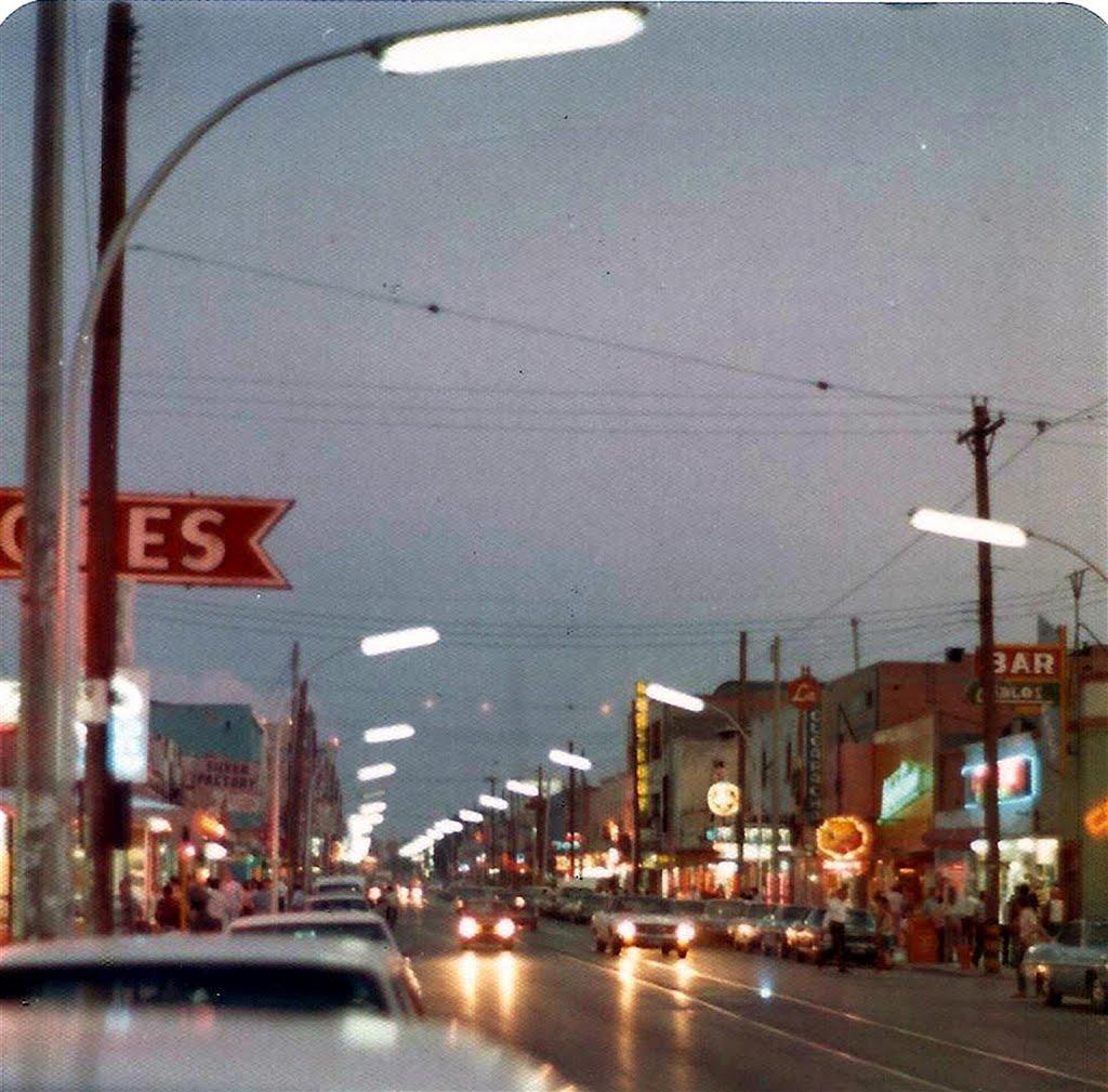 going into Jaurez Mexico 1973, Эль-Пасо