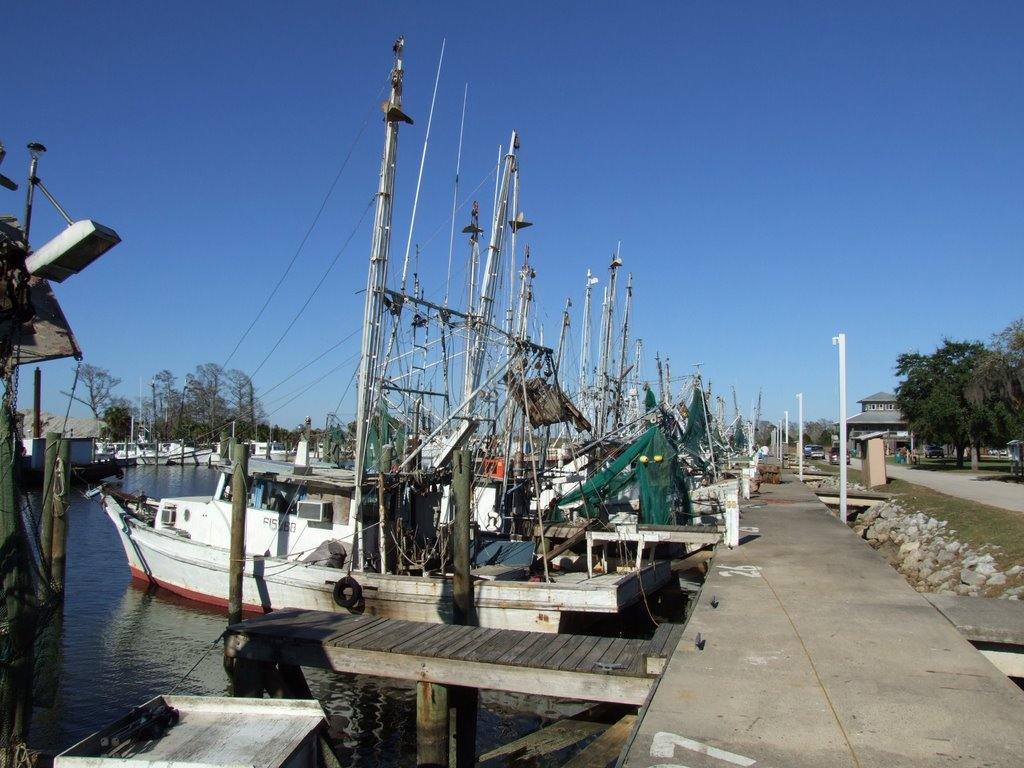 Fishing Boats, Апалачикола