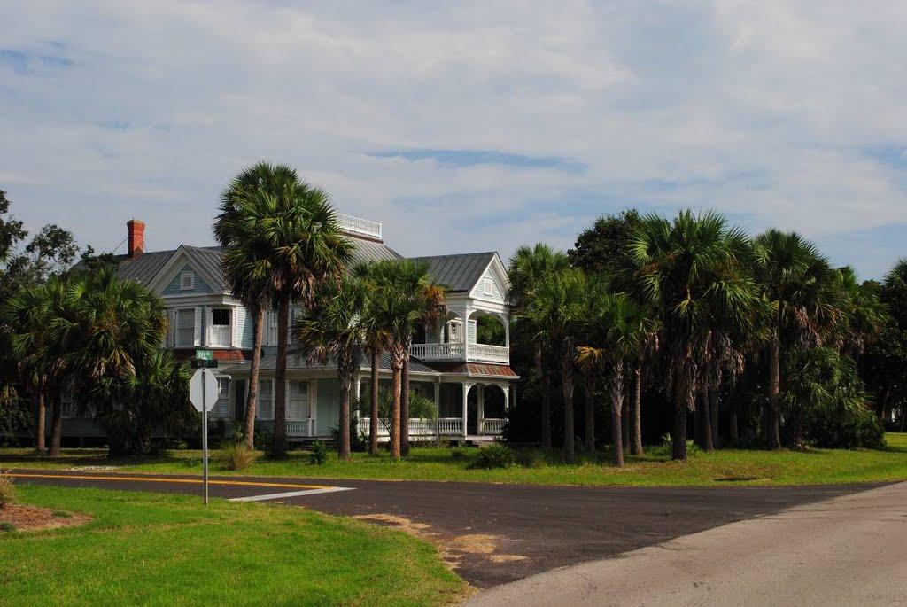 Bay Ave - Apalachicola, Florida, Апалачикола