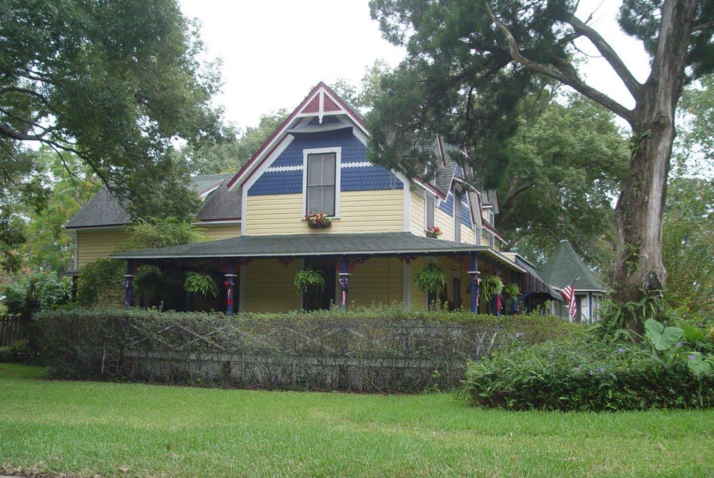 Florida style victorian house, Apopka (11-22-2009), Апопка