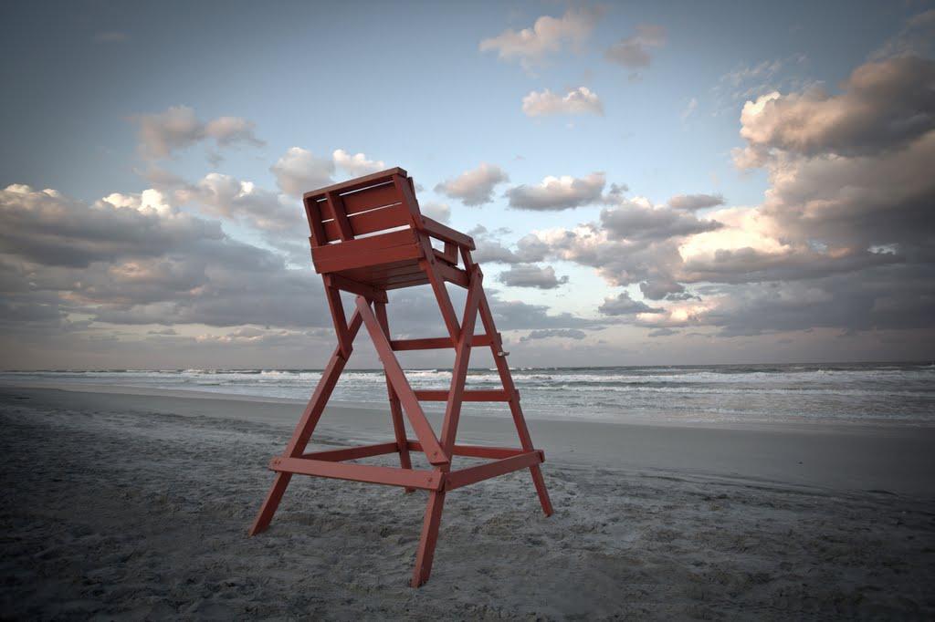 Lifeguard chair, Атлантик-Бич