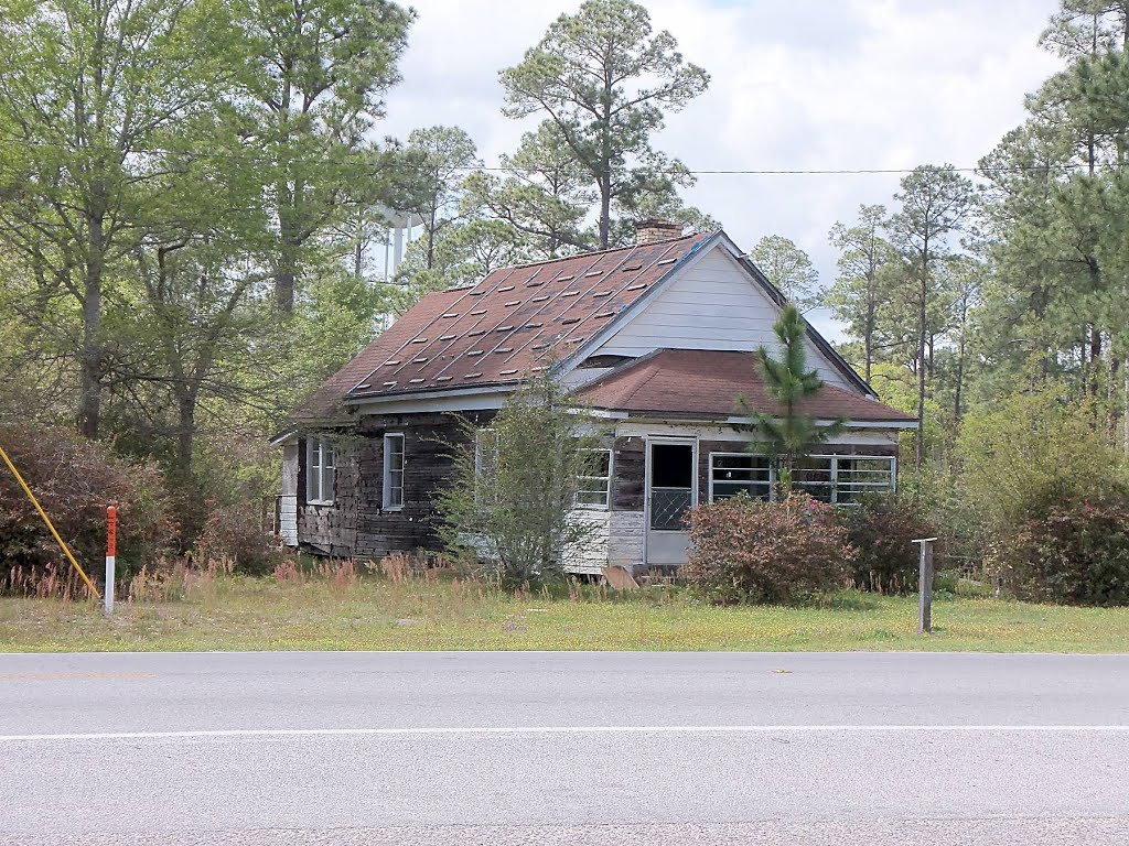 Abandoned house, Bagdad, FL (2013), Багдад