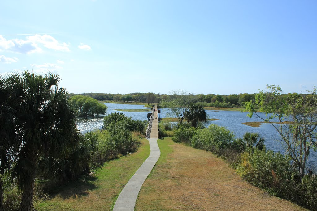 View from the Observation Tower, Довер