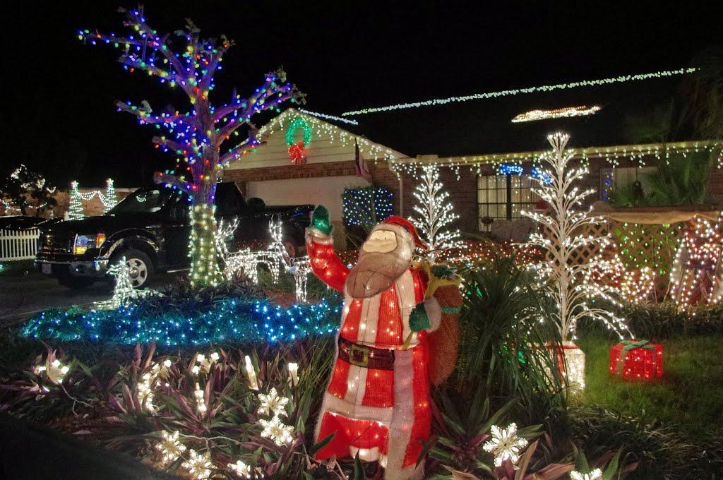 2013 12-24 Eagle Lake, Fl - Christmas Lights, Игл-Лейк