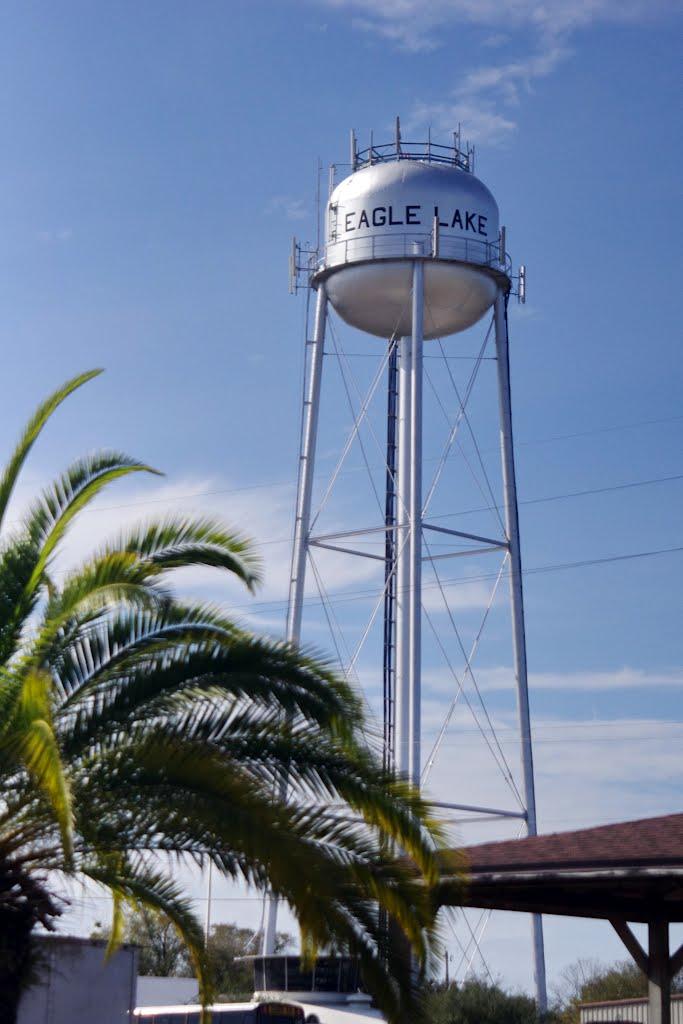 2012, Eagle Lake, FL - water tower, Игл-Лейк