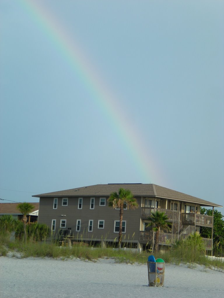 Rainbow over Indian Rocks Beach, Индиан-Рокс-Бич