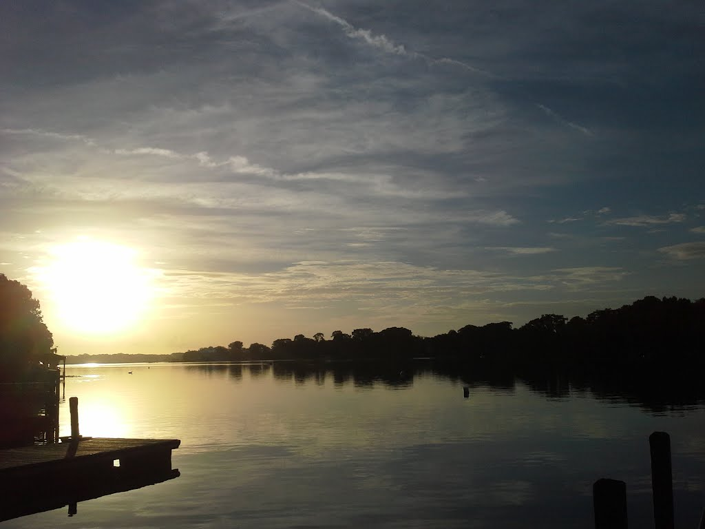 Sunrise over Lake Maitland, Итонвилл