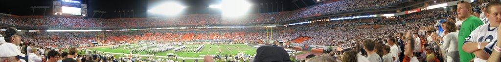 2006 Orange Bowl PSU vs. FSU (Land Shark Stadium), Карол-Сити