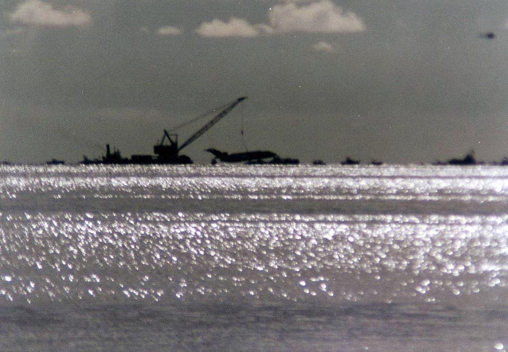The Boeing 727 called Spirit of Miami is sinking to make an Artificial Reef Aug-1993, Ки-Бискейн
