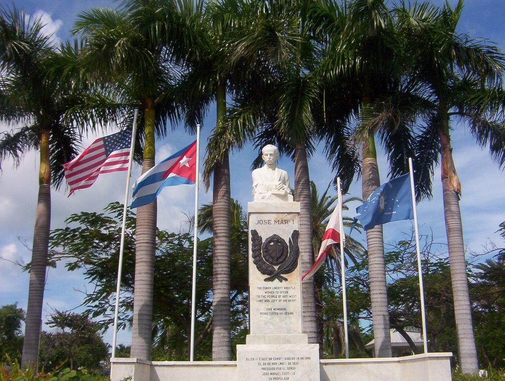 Monumento a Jose Marti, Ки-Уэст