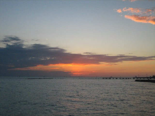 Sun set in the Key West Florida, Ки-Уэст