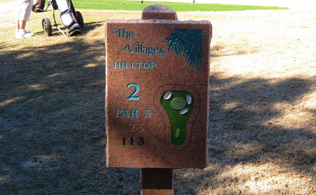 Hill Top - hole 2, Леди-Лейк