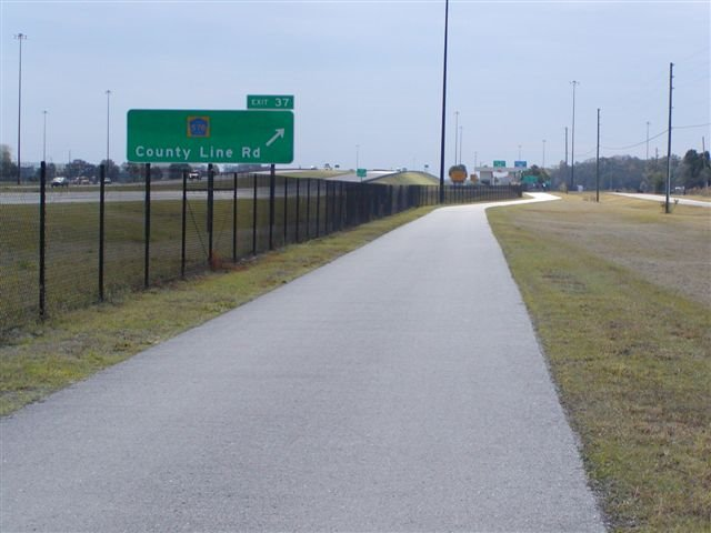 Suncoast Bike trail, pasco County, Палм-Шорес