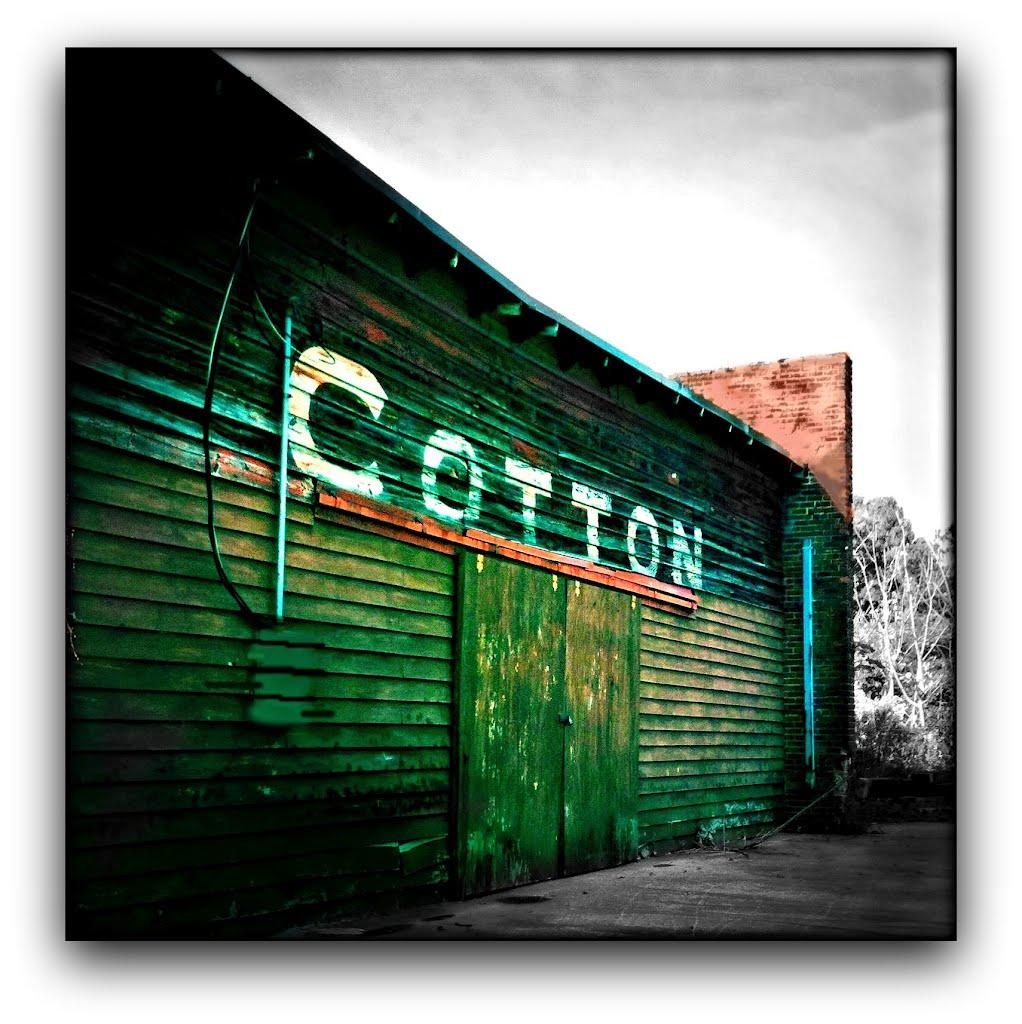 Old cotton warehouse, Рок-Хилл
