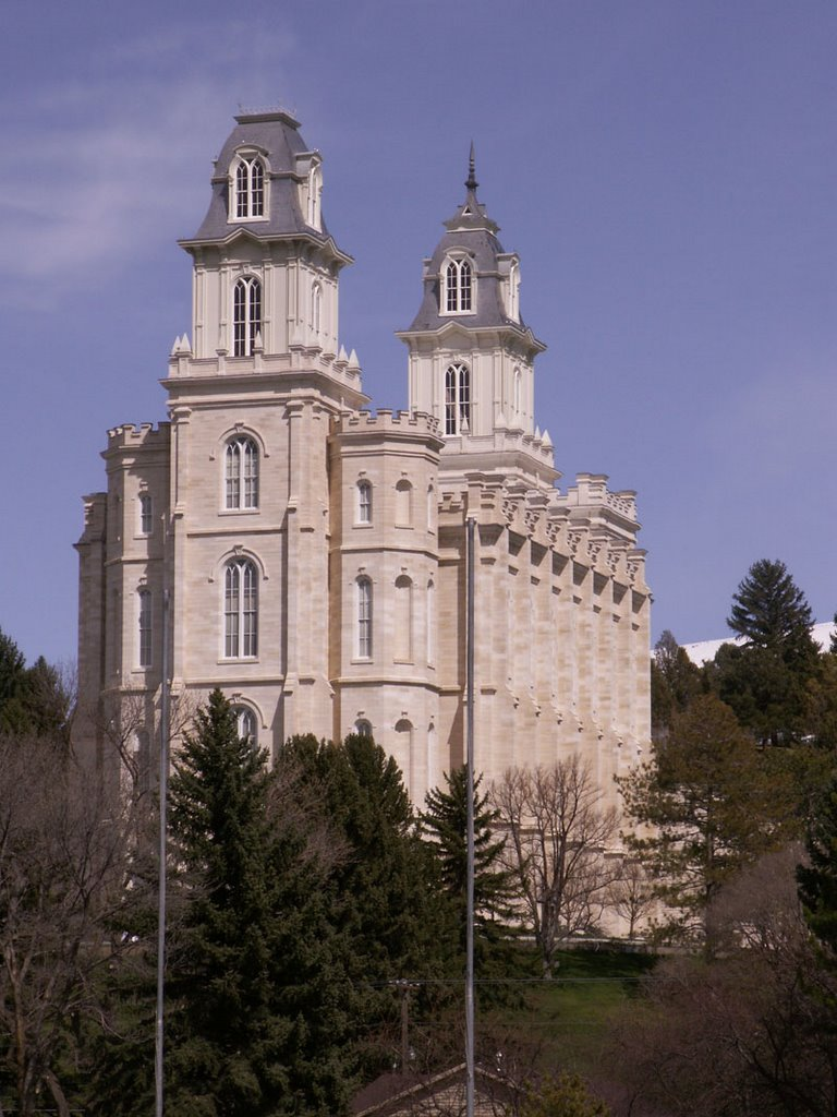 Manti Temple from West, Беннион