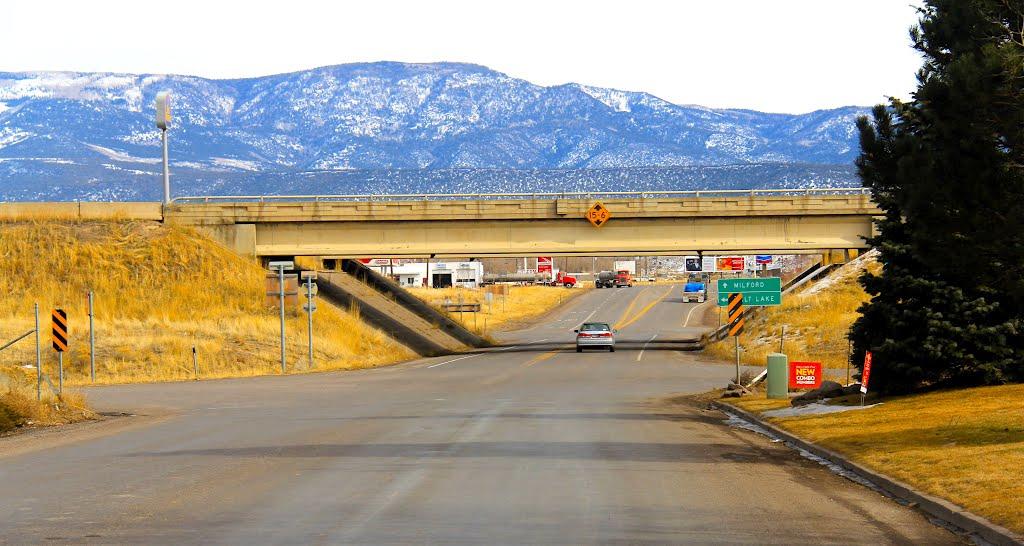 Interstate 15, Utah, Бивер