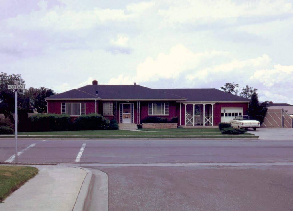 400 East Home in 1967, Боунтифул