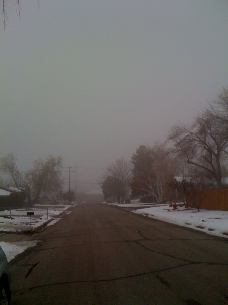 Foggy day, Боунтифул